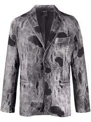 Avant Toi Distressed Fitted Blazer 60