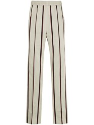 Kent And Curwen Striped Track Pants Grey