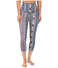 Onzie High Rise Friendship Capris Friendship Women's Capri Blue