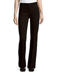 Saks Fifth Avenue Flat Front Solid Pants Black