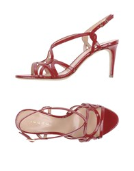 Lerre Sandals Brick Red