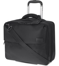 Lipault Plume Business Rolling Tote Anthracite Grey