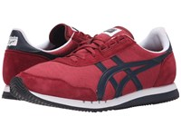 Onitsuka Tiger By Asics Dualio Burgundy Indian Ink Shoes Red