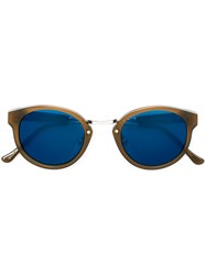 Retrosuperfuture 'Panama' Sunglasses Brown
