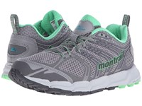 Montrail Caldorado Light Grey Tropical Ocean Women's Shoes Gray