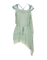 Tricot Chic Tops Light Green