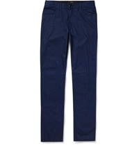 Brioni Slim Fit Lightweight Denim Jeans Blue