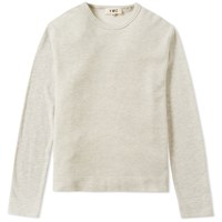 Ymc Marl Crew Sweat Grey