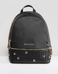 Silvian Heach Structured Backpack Black