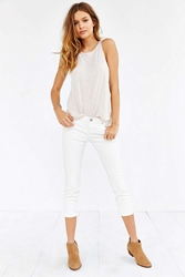 Bdg Twig Cropped Low Rise Jean White Wax