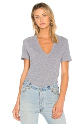 Monrow Oversized Tee Gray