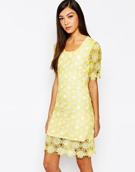 Sister Jane Daisy Chain Dress Lemon