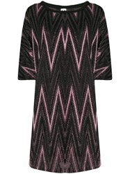 M Missoni Knitted Day Dress Pink