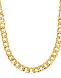 Lord And Taylor 14K Yellow Gold Chain Link Necklace