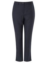 John Lewis Peg Trousers Navy