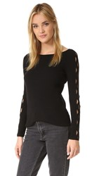 Ramy Brook Kimila Sweater Black