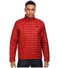 The North Face Thermoball Full Zip Jacket Cardinal Red Men's Coat