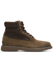 Swims Lace Up Boots Brown