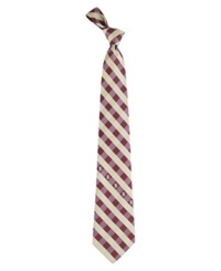 Eagles Wings Florida State Seminoles Checked Tie Team Color