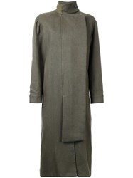 Christopher Esber Hunter Coat Green