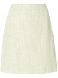 Moschino Vintage A Line Skirt Nude And Neutrals