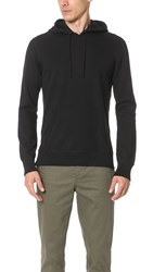 Reigning Champ Mid Weight Terry Side Zip Hoodie Black