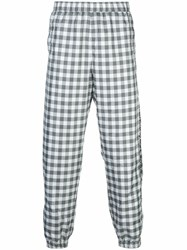 Opening Ceremony Gingham Check Track Pants Black