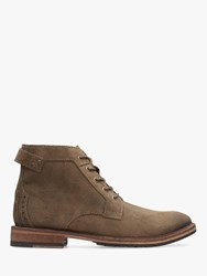 Clarks Clarkdale Bud Suede Boots Khaki