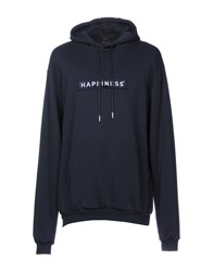 Happiness Sweatshirts Dark Blue