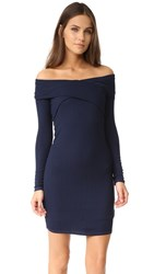 Splendid Criss Cross Dress Navy