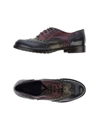 Thompson Lace Up Shoes Dove Grey
