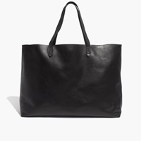 Madewell The East West Transport Tote True Black