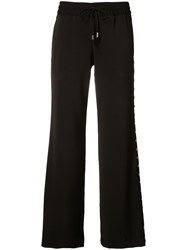 Alice Olivia Flared Trousers Black