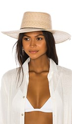 L Space Wayne Hat In Tan. Natural