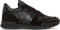 Valentino Black Camo Rockrunner Sneakers