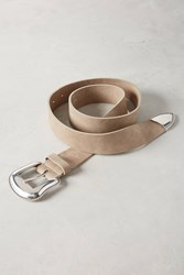 Anthropologie Fawn Belt Nude