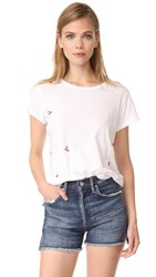 Sundry Cherries Boy Tee White