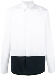 Marni Two Tone Shirt White