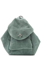 Manu Atelier Suede Backpack