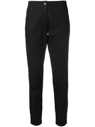 Moschino Vintage Cropped Chinos Black