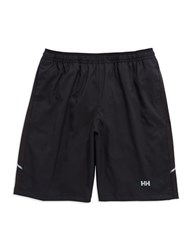 Helly Hansen Pace 2 In 1 Shorts 9In Black White