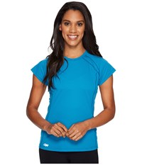 Outdoor Research Echo S S Tee Oasis Baltic Women's Clothing Blue