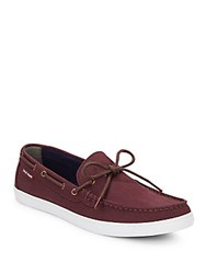 Cole Haan Lincoln Canvas Boat Shoes Port Royal