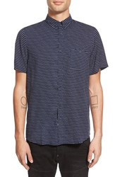 Men's Native Youth 'Quinoa' Short Sleeve Print Woven Shirt