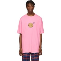 Vetements Two Pack Pink Milk Cookie Couple T Shirt