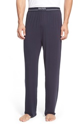 Boss Stretch Modal Lounge Pants Blue