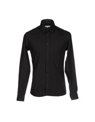 Suit Shirts Shirts Men Black