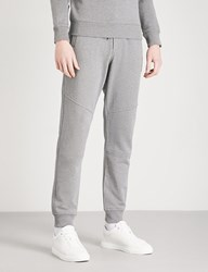 Belstaff Oakington Cotton Jersey Jogging Bottoms Grey Melange