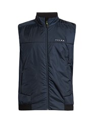 Falke Lightweight Quilted Performance Gilet Navy Multi