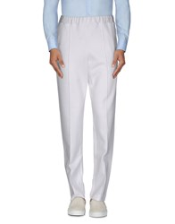Dirk Bikkembergs Trousers Casual Trousers Men White